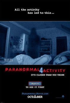 """Win 25 free pairs of advance-screening movie tix to """"Paranormal Activity 4"""" plus DVDs to the first three films courtesy of HollywoodChicago.com! Win here: http://ptab.it/cLQ8"""