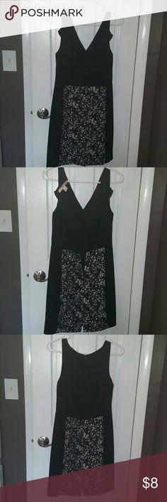 F21 Black dress Sleeveless, zip up back, like new. Forever 21 Dresses Midi
