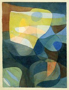 Paul Klee, Light Broadering, 1929 on ArtStack #paul-klee #art