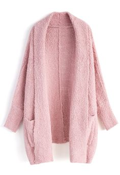 Follow My Heart Longline Cardigan in Pink - New Arrivals - Retro, Indie and Unique Fashion