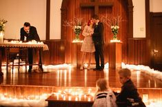 A Surprise Christmas Eve Wedding: Amanda + James