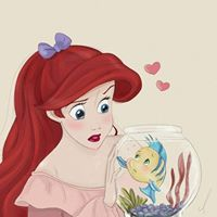 We Heart It | Fashion, wallpapers, quotes, celebrities and so much more Princesas Disney Hipster, Disney Princess Ariel, Disney Princess Drawings, Disney Princess Fashion, Disney Princess Quotes, Disney Princess Pictures, Cute Disney Pictures, Disney Images, Goth Disney Princesses