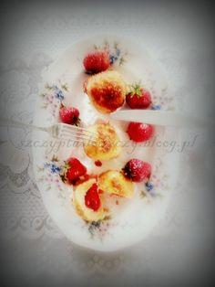 Panierowane knedle z truskawkami - smażone PRZEPIS