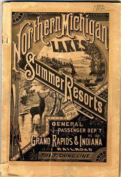 Very Victorian Summertime Travel Ad - Retroette