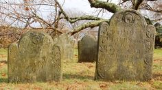 The Beautiful, Forgotten and Moving Graves of New England's Slaves This photo project reveals the powerful history tucked into Rhode Island's cemeteries.