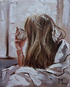 Monika Luniak - Paintings for Sale Oil Painting On Canvas, Watercolor Paintings, Paintings For Sale, Original Paintings, Autumn Coffee, Palette Knife Painting, Impressionism Art, Portrait Art, Lovers Art