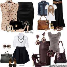 Как одеваться девушкам с типом фигуры груша (треугольник). Советы и фото