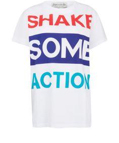Être Cécile White Shake Some Action T-Shirt   Women's Tops by Être Cécile   Liberty.co.uk
