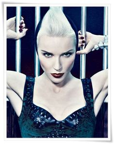 14 Bold Daphne Guinness Editorials #fashion trendhunter.com