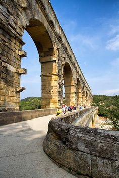 Pont du Gard,Languedoc-Roussillon,France http://www.vacationrentalpeople.com/vacation-rentals.aspx/World/Europe/France/Languedoc-Roussillon/