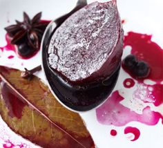 Spiced sweet & sour pickled beetroot
