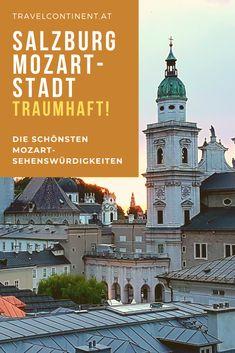 #Salzburg ist die Mozart-Stadt! Insider-Tipps für die schönsten #Mozart-#Sehenswürdigkeiten mit Geheimtipps für die Altstadt. #reiseziele #österreich #städtetrip #citrytrip Wiener Philharmoniker, Hotels, Taj Mahal, Building, Travel, Highlights, Festivals, Movies, Movie Posters