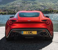 Aston Martin Vanquish Zagato : Irrésistible !