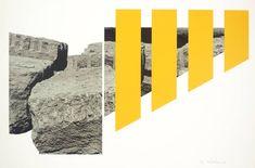 Menashe Kadishman, 'Yellow Rocks' 1973-4