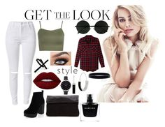 """""""Untitled #106"""" by booooooom ❤ liked on Polyvore featuring WearAll, LE3NO, New Look, Lime Crime, Olivia Burton, Emi Jewellery, L. Erickson, Kenneth Cole and Narciso Rodriguez"""