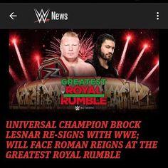 So Brock still with wwe? #WWE #NXT #ROH #TNA #RAW #SMACKDOWN #SethRollins #DeanAmbrose #RomanReigns #JohnCena #BrayWyatt #KevinOwens #SamoaJoe #SamiZayn #FinnBalor #DolphZiggler #Kalisto #Cesaro #Paige #SashaBanks #LukeHarper #Neville #RandyOrton #ajstyles #undertaker #WWELiveCoverage #wwemaniac56