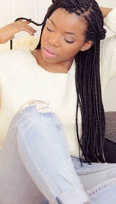 Top 24 All The Rage Looks With Long Box Braids