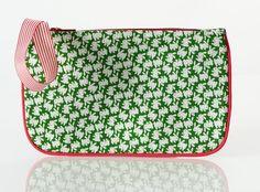 JULIETTE - Sacs - Pochette imprime liberty, velours rose, vert, gris :: So Chouette