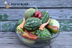 Pepeni murati in saramura, reteta traditionala moldoveneasca Carne, Acai Bowl, Watermelon, Food And Drink, Pantry, Youtube, Canning, Kitchens, Drinks