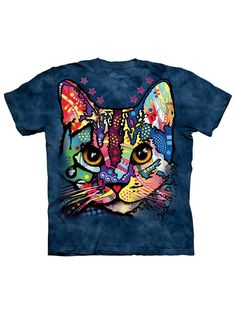 The Mountain Patches the Cat T-Shirt bunt