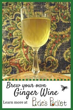 Ginger is such a wonderful spice, and one of my favorites. It's a great healer, and its heat is just so enjoyable! I've never…Continue Reading Homebrew Recipes, Beer Recipes, Alcohol Recipes, Drink Recipes, Brewing Recipes, Drinks Alcohol, Coffee Recipes, Homemade Wine Recipes, Homemade Alcohol