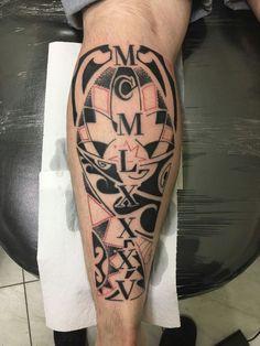 #tattooartnapele #mcmlxxxv #1985 #birthyear