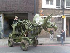Dinotruck - by Wreckage from Mutate:Britian