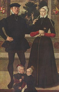Artist Master of the Antwerp Family Portrait (fl. circa 1559) Title Deutsch: Porträt der Familie van Gindertaelen Date 1559 Medium oil on panel Dimensions 196 × 126 cm Current location Royal Museum of Fine Arts, Antwerp