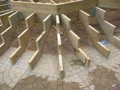 1000 Images About Deck On Pinterest Wood Deck Railing