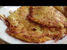 Omas Kartoffelpuffer Zubereitung - YouTube Kraut, Lasagna, Food And Drink, Cupcakes, Cookies, Ethnic Recipes, Youtube, Inspiration, Gratin