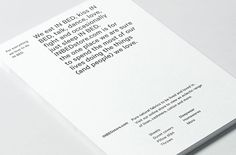 Saved by Visual Journal (visualjournal). Discover more of the best Moffitt, Printed, Materials, Bed, and Stationery inspiration on Designspiration Print Layout, Layout Design, Print Design, Logo Design, Design Design, Minimal Web Design, Modern Graphic Design, Clean Design, Letterhead Design