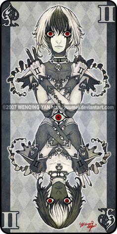 Augen Auf: Spades 2 - 10 by yuumei