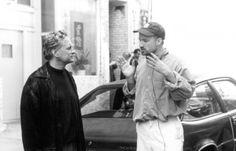 """David Fincher directing Michael Douglas on """"The Game"""" Turning 20, David Fincher, 90s Movies, True Detective, Gone Girl, Six Month, Movies Showing, Filmmaking, Thriller"""