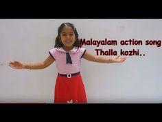 Malayalam action song for kids lkg/ukg (thalla kozhi motta ittu..)