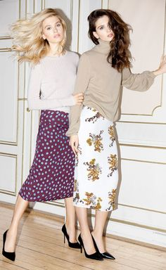 Love the skirts Fashion Now, Fall Winter, Autumn, Midi Skirt, In This Moment, Skirts, Vintage, Midi Skirts, Skirt