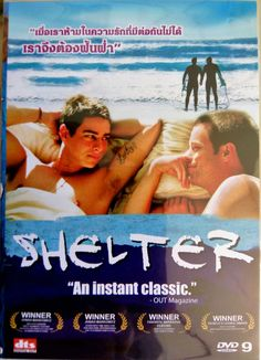 Shelter (2007) DVD R0 -  Trevor Wright, Brad Rowe, Gay Interest Surfing Drama