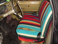 Baja Inca Saddle Blanket Seat Covers ...getting these for my ...