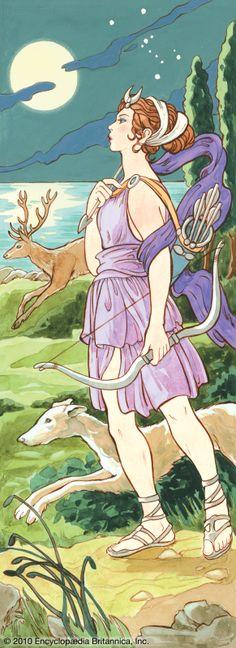 Artemis by Judie Anderson