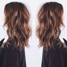 Long layered bob waves