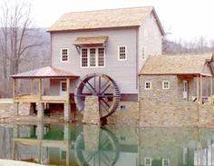 Howard's Creek Mill  White Sulphur Springs,  West Virginia