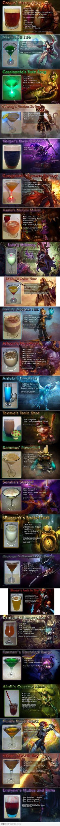 League of Legends drinks