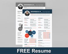 Free Resume Template Psd  Colors  Cv  Resume