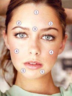Was pickel im Gesicht über deine Gesundheit sagen.