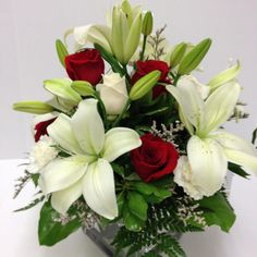 #lilies #roses #carnations #cube