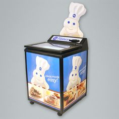 The GLC is a budget friendly thermoelectric cooler ideal for product launches and seasonal sales pushes. Merchandising Displays, Glass Door, Toy Chest, Decorative Boxes, Product Launch, Budget, Seasons, Doors, Marketing