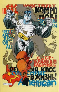 Colossus by Rick Leonardi and Dan Green *