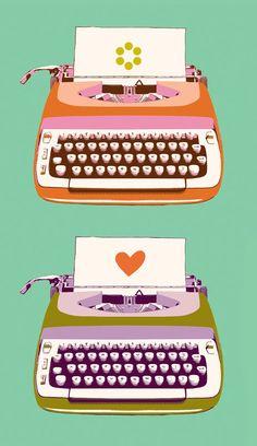 Typewriter by Melody Miller #gelaskins