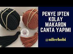 YouTube Crochet Diy, Crochet T Shirts, Learn To Crochet, Diaper Bag Tutorials, Crochet Bag Tutorials, Crochet For Beginners, Crochet Animal Amigurumi, Crochet Amigurumi Free Patterns, Diy Bags Tutorial