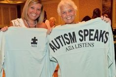 Autism Speaks - Alpha Xi Delta listens.  From National Convention, July 2013, San Francisco.