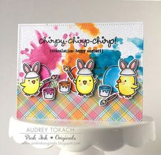 A Chirpy Chirp Chirp Easter Card by Audrey!